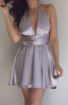 LIZZY DRESS - SILVER