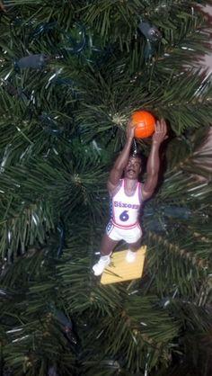 Dr. J Julius Erving Philadelphia 76ers custom by bruhno24 on Etsy, $10.00