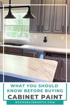 I have painted several pieces of furniture, bathroom vanities, and kitchen cabinets. So, I learned a lot of tips and tricks along the way and the best paint to use for cabinets! #cabinetpaint #paintedcabinets #kitchencabinets