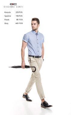 Stylizacja Giacomo Conti:   Koszula Sergio 15/01/58-K, spodnie Abramo 15/44T, buty 2676.