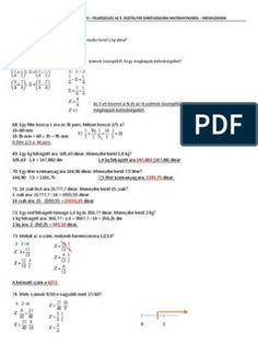 Záróvizsga - 5. osztály - szöveges feladatok
