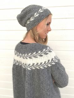 A simple slouchy hat- a super fast knit and excellent to keep your head warm all trough the colder season.