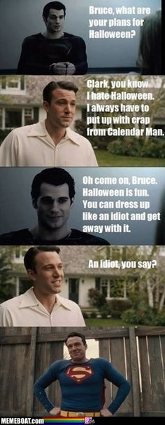 Bruce What Are Your Plans For Halloween