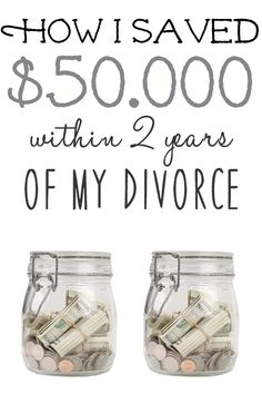 Getting divorced is scary. Learning how to live on a single income is even scarier. Re-examining your spending and saving habits is crucial in saving money on a single income.