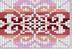 Tricksy Knitter Charts: Fair Isle flower by Hele
