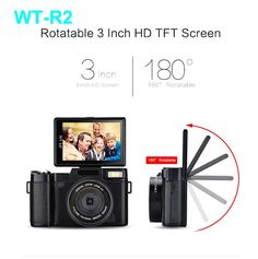 79.99$  Buy here - http://aixir.worlditems.win/all/product.php?id=32791713258 - winait 24mp(5152*3864) 4 x digital with 800mah battery Multi-language LCD Screen