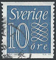 Sweden - Postage Stamp, 1961 - 10 Öre