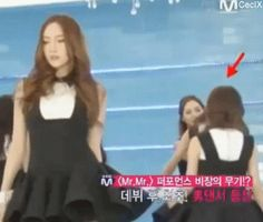 """Mr Mr SNSD Girls Generation Jessica Sooyoung dance"" haha Sooyoung being pushed to the Front ^^'"
