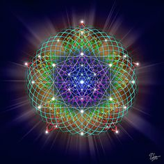 #sacred #geometry Sixty-Two by Endre Balogh #spirituality