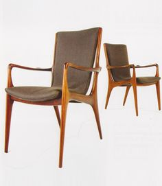 """Ralph Pucci - Dining ChairsVladimir Kagan Classics Sculpted Sling Dining Side Chair Seat Width - 18"""" Overall Width (at widest) - 24"""" Seat Depth - 16"""" Overall Depth (at deepest) - 28"""" Seat Height - 18.5 Back Height - 37"""""""