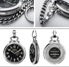 The Henry Ford Pocket Watch | Shinola®