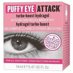 Soap & Glory Puffy Eye Attack Turbo-Boost Hydragel .47 oz