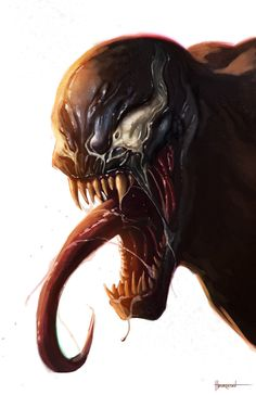 Venom by pinkhavok.deviantart.com on @deviantART