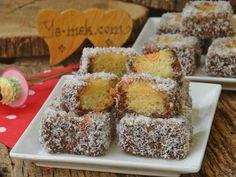 Lokum Kek – Pratik yemekler – The Most Practical and Easy Recipes Marshmallow Cake, Different Cakes, Cake Recipes, Muffin, Chocolate, Breakfast, Easy, Desserts, Food