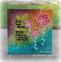 Texture Paste Canvas using @TatteredAngels, @Canvas Corp1 and @Spellbinders!