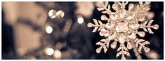 White snowflake, christmas, facebook timeline cover photo