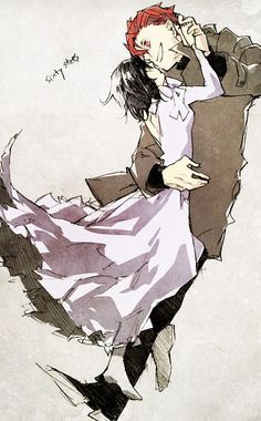 claire and chain #baccano