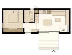 Freedomky 2 PLUS Classic, floor plan option 2 « Small House Bliss