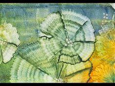 Encausticmalerei Wiese mit Zaun - YouTube