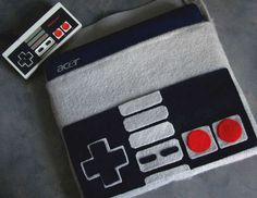 Nintendo controller laptop case