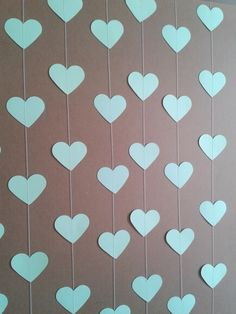 Paper Party Decorations, Bridal Shower Decorations, Birthday Decorations, Mothers Day Crafts For Kids, Heart Crafts, Ideas Para Fiestas, Baby Scrapbook, Art Wall Kids, Projects To Try