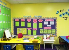 LOVE this focus board to highlight the weekly reading content
