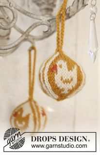 """Knitted DROPS Easter ball in """"Karisma"""""""