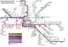 metro map Melbourne
