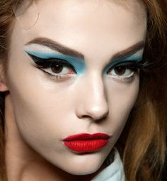 Bizarre beauty secrets from backstage. Need a Lift?         At one recent show, models were given the Botox treatment by way of tape (not that a single runway model actually needs her skin pulled taut). The goal was to create dramatically arched brows. Although we wouldn't suggest this strategy for everyday wear, it certainly could be fun come Halloween.