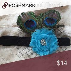 Infant/toddler peacock headband Infant/toddler peacock headband Accessories Hair Accessories