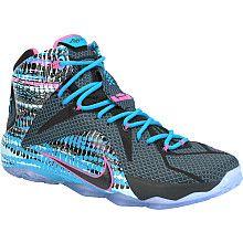 save off 00cd8 009b9 Nike LeBron 12 23 Chromosomes Release Date Black Pink Pow Blue Lagoon  684593 006