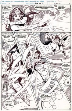 Action Comics #540 page 2 Comic Art