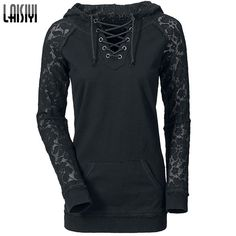 Want' to like a product without buying it, check this one out Laisiyi 2016 Autu... only available on Costbuys http://www.costbuys.com/products/laisiyi-2016-autumn-pullovers-casual-hoodies-women-lace-patchwork-drawstring-black-sweatshirt-sexy-ladies-clothing-ho1093?utm_campaign=social_autopilot&utm_source=pin&utm_medium=pin