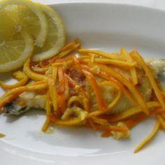 Filetti di merluzzo al profumo di agrumi - Cod fillets flavored with citrus