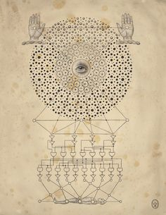 Daniel Martin Diaz / Spirit Machine / Sacred Geometry <3