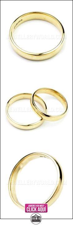 4 mm 18ct corte del anillo de bodas de oro  ✿ Joyas para hombres especiales - lujo ✿ ▬► Ver oferta: https://comprar.io/goto/B00B45XQNI
