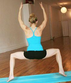 yoga for a better butt