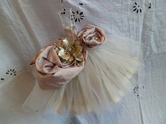 Art Dress Assemblage  Peony by MesssieJessie on Etsy