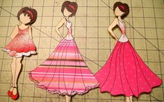 Editing the New Prima Doll Stamps