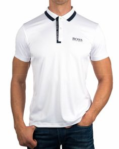 1b59dc5f7b1987 HUGO BOSS GREEN Polos Hugo Boss Paddy Pro 3 - Blanco. Polo Tee ...