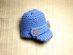 How to Loom Knit a Baby Visor Hat (DIY Tutorial), My Crafts and DIY Projects