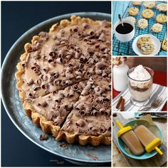 All these yummy desserts have COFFEE somewhere in them. We will definitely be making these soon!