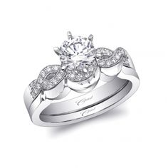 Engagement ring #LC10011 - Coast Romance Collection - Coast Diamond Bridal Engagement Ring Collections #WeddingRings #EngagementRings #DiamondRings #CoastDiamond