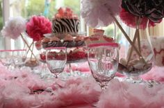 Teen party ideas.  Zebra idea.  Hostess with the Mostess - Diva Dance Party by Kindofish Designs party-ideas