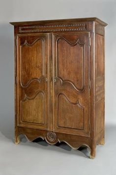 Armoire Attributed to Pierre La Lumiere Indianapolis Museum of Art Antique Armoire, Antique Furniture, Cool Furniture, Native American Decor, Indianapolis Museum, Art Museum, Victorian, Buffets, Antiques