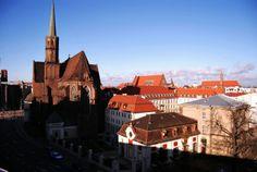 #Wrocław i dominikański #klasztor. #dominikanie