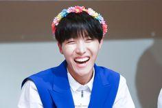 BTS / J-Hope / Fansign / Flower Crown