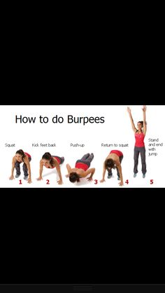 How to properly do burpees