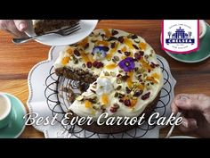 Best ever carrot cake recipe - so moist, so delicious, so hard to resist. Baking Recipes, Cake Recipes, Yummy Recipes, Recipies, My Favorite Food, Favorite Recipes, Cake Mixture, Biscuit Cake, Cake Tins