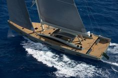 MCP YACHTS Unveil New 100′ SILVER BULLET Sailing Yacht Project